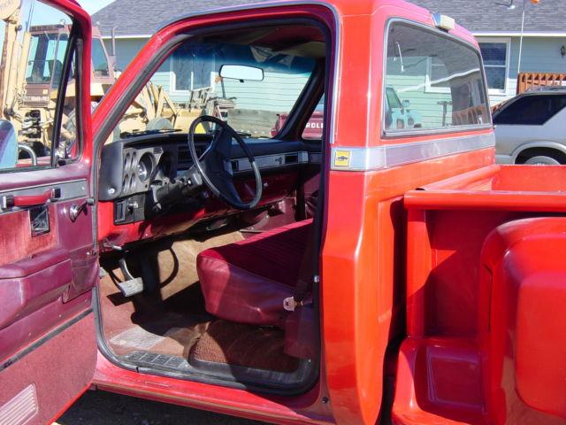 1986 Chevrolet C10 Silverado Standard Cab Pickup 2-Door 5 ...