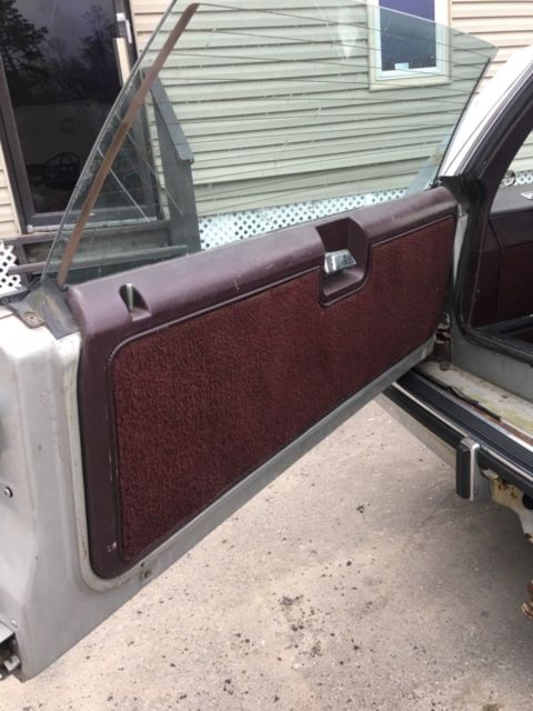 1986 Gray Chevrolet Other Pickups Wagon with Burgundy interior