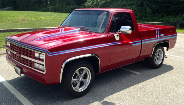 1986 chevy c10 truck specs
