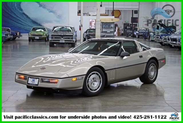 1986 Chevrolet Corvette Base Hatchback 2-Door