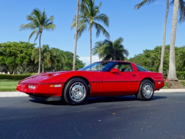 1986 Chevrolet Corvette Z51 4+3 Manual
