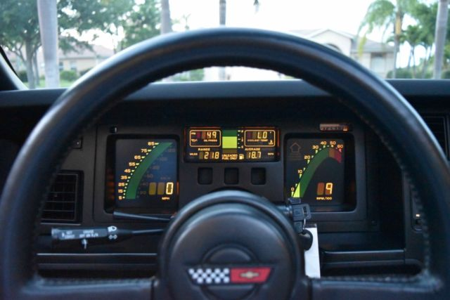 1986 Chevrolet Corvette Z51 5 7l 18 000 Miles Recent