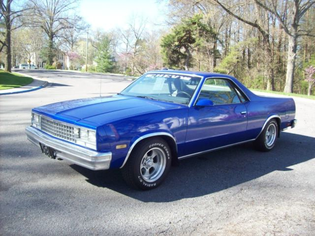 1986 Chevrolet El Camino Fresh Restoration Sharp For Sale Photos Technical Specifications