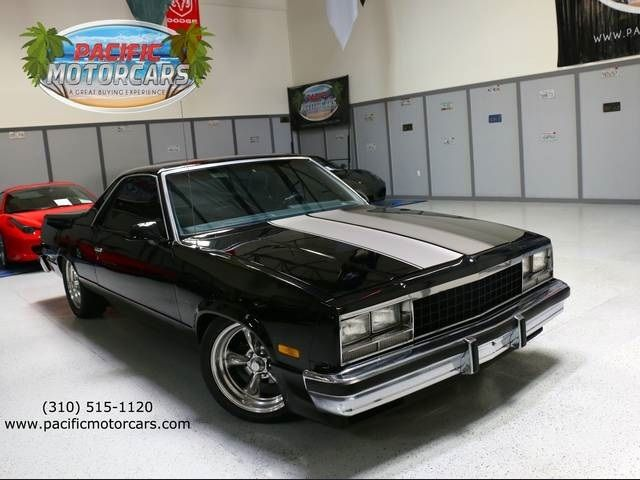 1986 Chevrolet El Camino SS Automatic 2Door Truck All Original