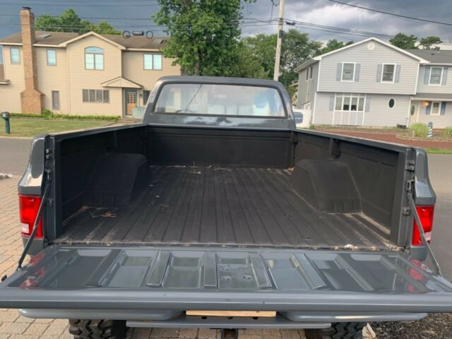 1986 Gray Chevrolet Other Pickups Pick up with Red interior