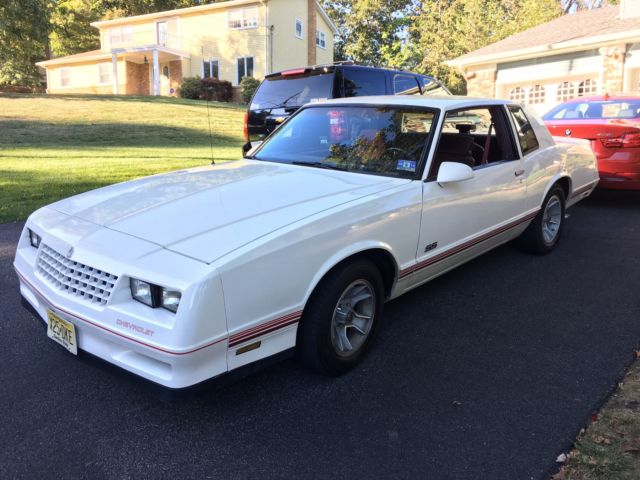 1986 Chevrolet Monte Carlo SS SS