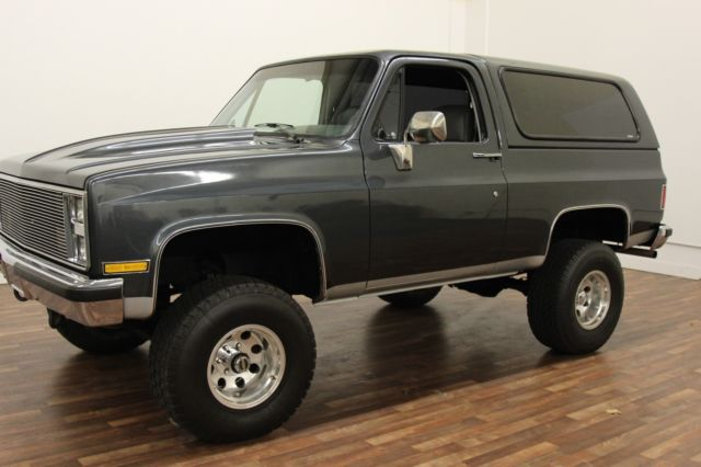 1986 chevy blazer fully restored restoration custom low reserve gmc jimmy 4x4 for sale photos technical specifications description topclassiccarsforsale com