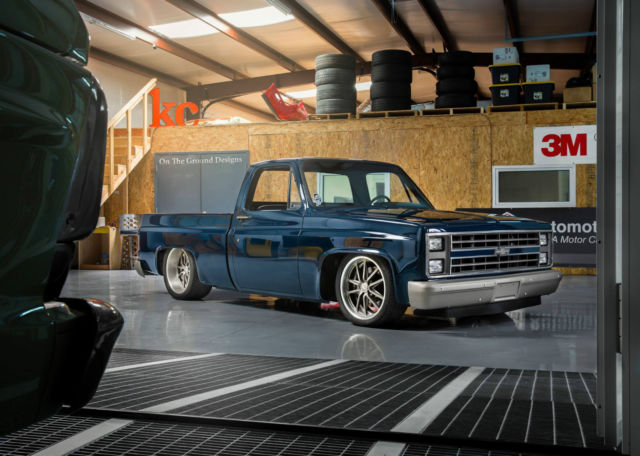 1986 chevy c10 fully restored supercharged ls7 built by for Kc paint shop