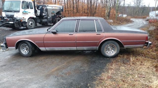 1986 Chevrolet Caprice Base Sedan 4-Door
