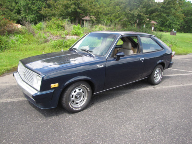 1986 chevy chevette 2 door hatchback for sale photos technical specifications description topclassiccarsforsale com