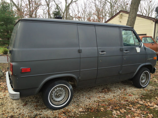 1986 chevy g20 shorty shortie van 20k original miles rust free for sale photos technical. Black Bedroom Furniture Sets. Home Design Ideas