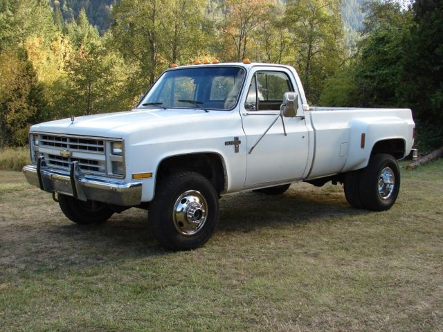 1986 chevy k30 4x4 1 ton pickup truck dually diesel gmc 3500 for sale photos technical. Black Bedroom Furniture Sets. Home Design Ideas