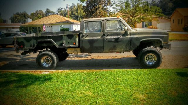 1986 chevy k30 crew cab 4x4 square body truck for sale photos technical specifications. Black Bedroom Furniture Sets. Home Design Ideas