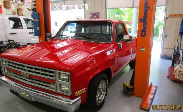 1986 Chevy pickup restored 1/2 ton short bed for sale ...