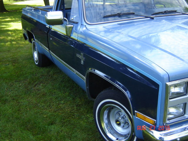 1986 Chevrolet Other Pickups BLUE CLOTH