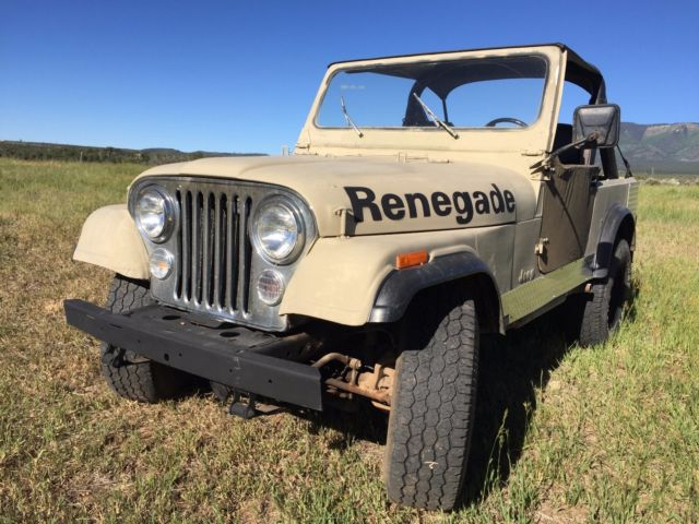 1986 Jeep CJ Renegade