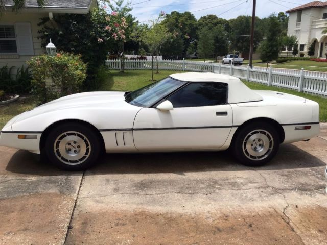 1986 Chevrolet Corvette convertable