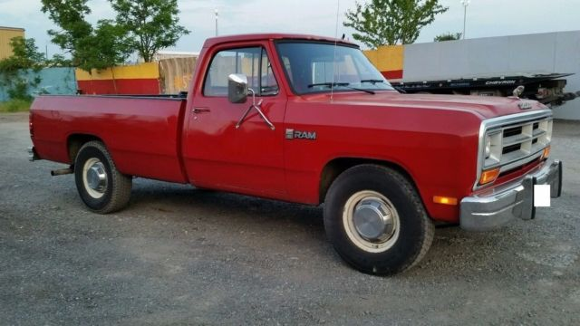 1986 Dodge Other Pickups