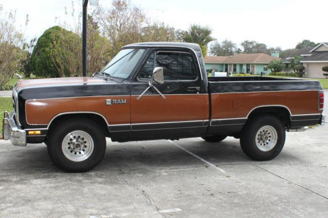 1986 Dodge Ram Truck For Sale Photos Technical