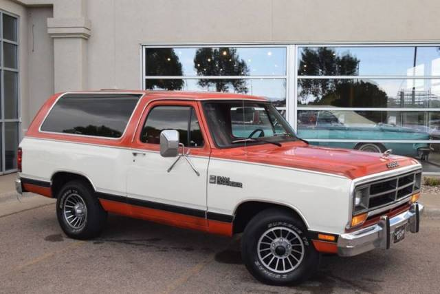 1986 Dodge Ramcharger 150 2dr SUV