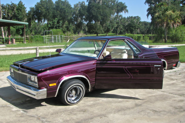 El Camino With Hydraulics : El camino west coast low rider show car for sale