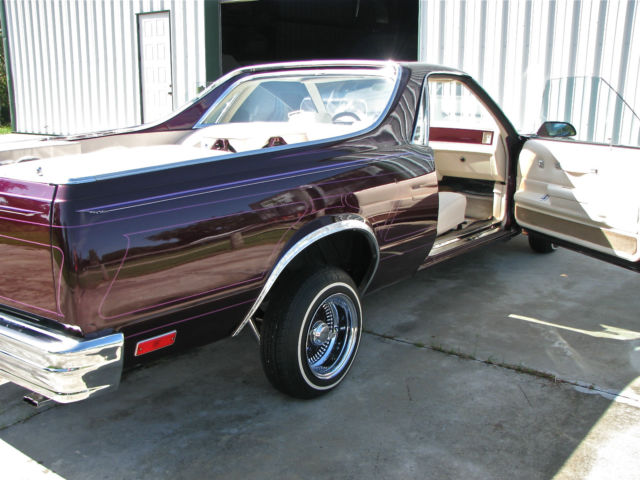 1986 el camino west coast low rider show car for sale. Black Bedroom Furniture Sets. Home Design Ideas