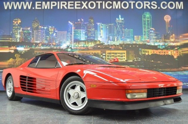 1986 Ferrari Testarossa Single Flying Mirror 15K Engine Out Complete