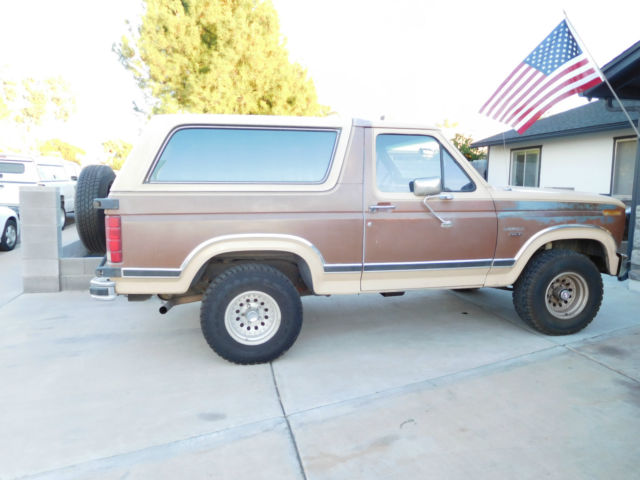 1986 ford bronco 4x4 for sale photos technical. Black Bedroom Furniture Sets. Home Design Ideas