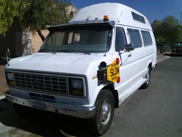 1986 Ford E-Series Van