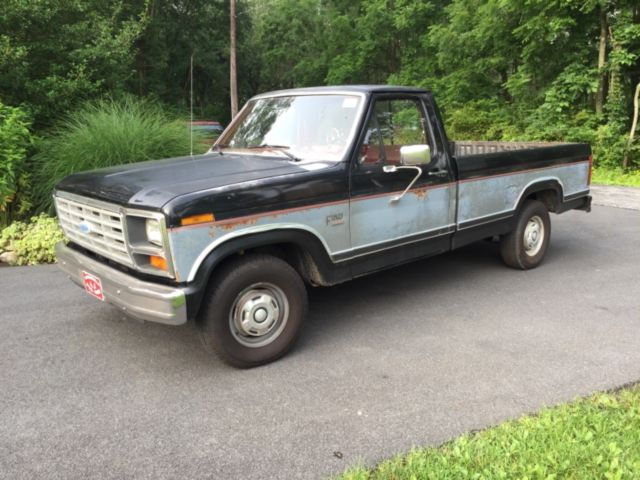1986 Ford F 150 Manual - Owners Manual Book •