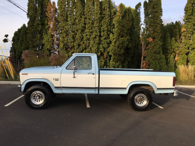 1986 ford f 250 xl 6 9 l diesel 4x4 all original for sale photos technical specifications. Black Bedroom Furniture Sets. Home Design Ideas