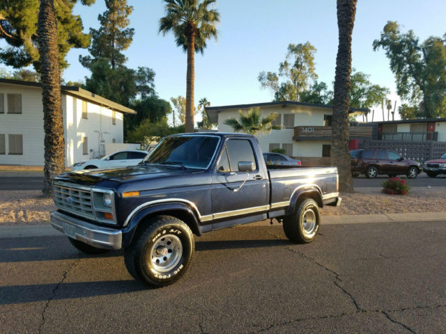 1986 Ford F-150 XLT LARIAT 4X4 SHORT BED FULLY LOADED RUNS GREAT!!