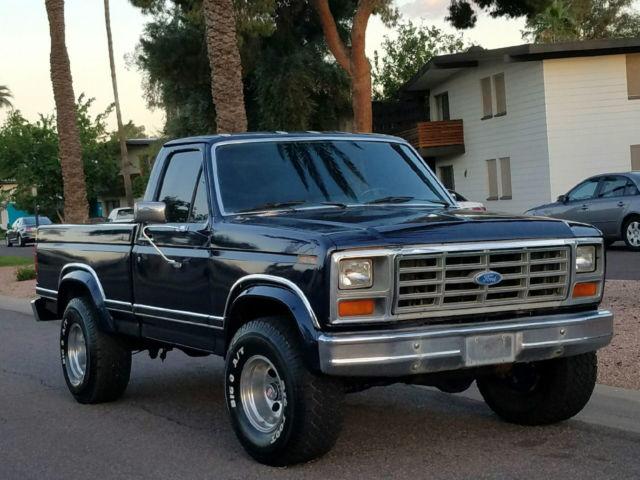 1986 Ford F150 Xlt Lariat 4x4 Short Bed 351 V8 A T Fully