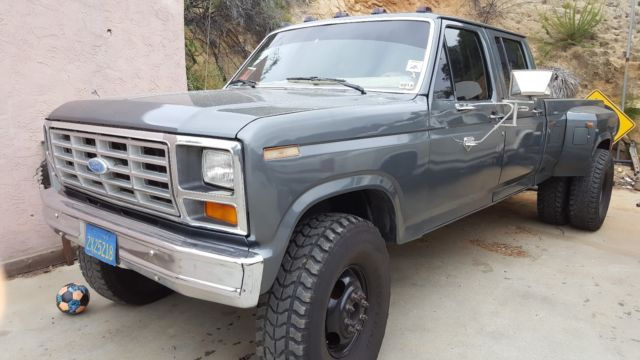 1986 ford f350 cclb dually 6 9 turbo diesel 4spd manual for sale. Cars Review. Best American Auto & Cars Review