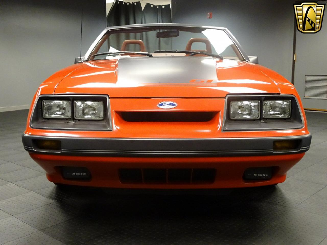 1986 Ford Mustang Gt 3905 Miles Bright Red Convertible 50l V8 Fi Prevnext