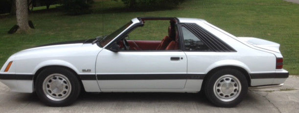 1986 ford mustang gt with t tops very good condition for sale photos technical. Black Bedroom Furniture Sets. Home Design Ideas