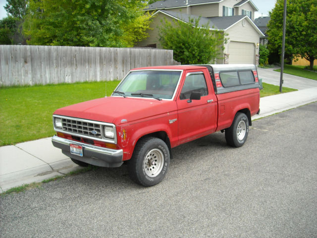 1986 Ford Ranger XL