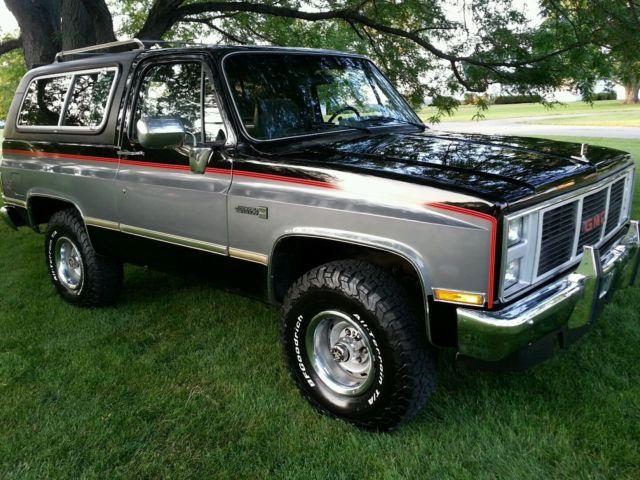 J10 Jeep For Sale 1986 gmc chevy k5 k15 jimmy blazer 4x4 k1500 for sale ...