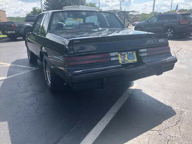 1986 Black Buick Regal 2 Dr Coupe Coupe with Other Color interior
