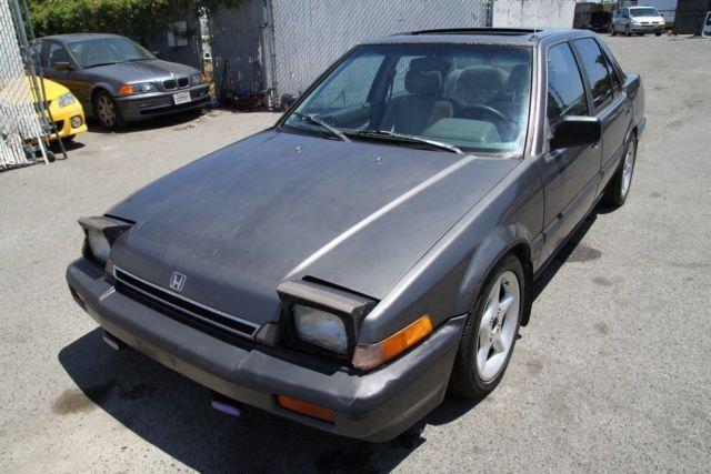 Honda accord 1986 2. 0 in johor manual sedan black for rm 2,300.