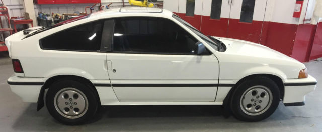 1986 Honda Civic CRX Si