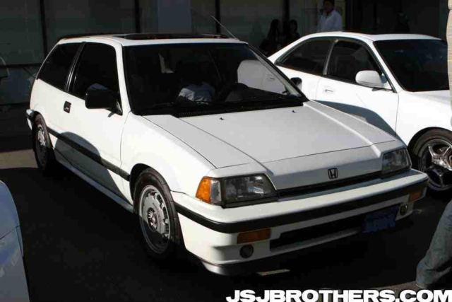 1986 HONDA CIVIC SI Hatchback for sale: photos, technical specifications, description