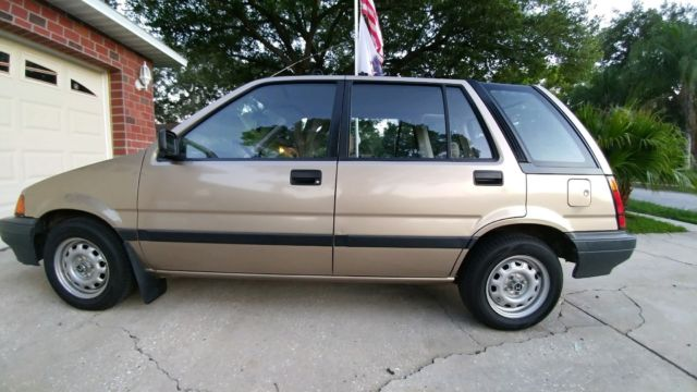 1986 Honda Civic Wagon