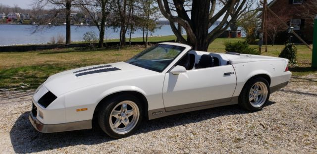 1986 IROC Z28 Camaro AFC Modified Roadster for sale: photos