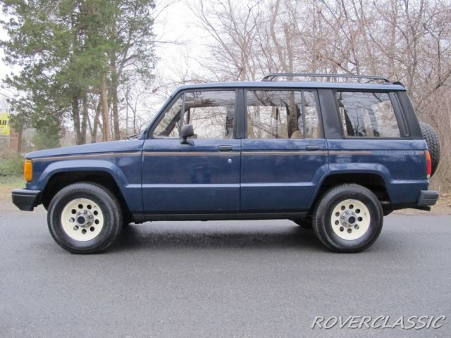 1986 Isuzu Trooper Ii Turbo Diesel 4x4 For Sale Photos Technical