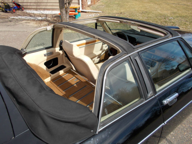 1986 Jaguar XJS XJ SC V12 Targa Convertible   Reliable Driver