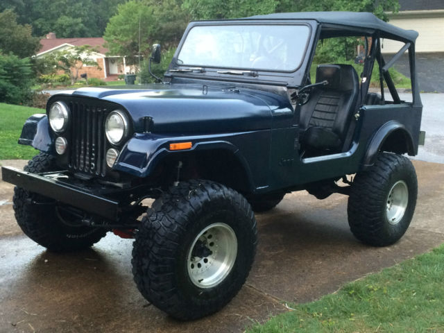 1986 Jeep CJ7, Chevy 350, TH400 for sale: photos, technical