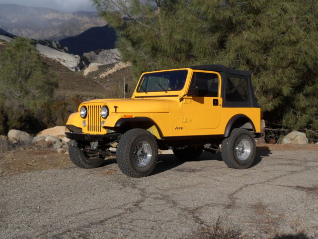 19860000 Jeep CJ7 Laredo