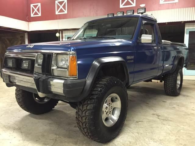 1986 Jeep Comanche Base 2dr 4wd Standard Cab Lb Automatic 3 Speed