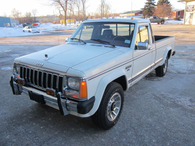 1986 Jeep Comanche XLS